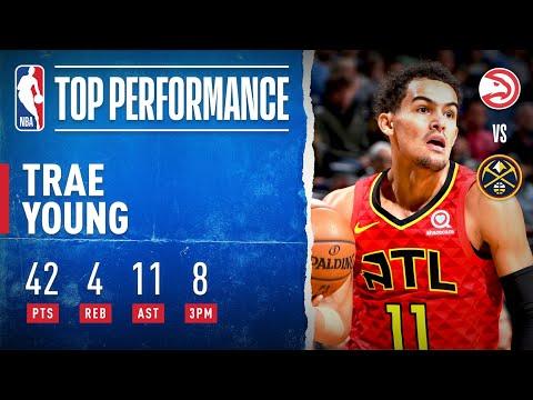 Trae Young Makes NBA HISTORY!