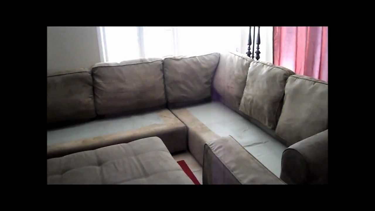 Revamping My Microfiber Couch   YouTube