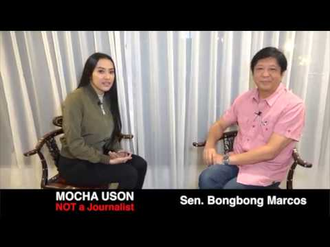 Mocha's interview with Sen. Bongbong Marcos