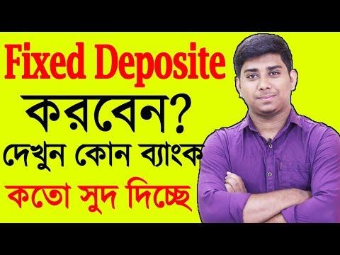 Fixed Deposite Interest rates Of Banks On 2019,Fixed Deposit