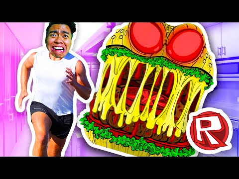 Thumbnail: ESCAPING A GIANT BURGER! | Roblox
