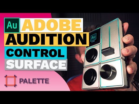 Adobe Audition Control Surface - Palette Gear
