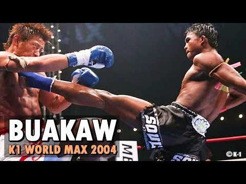 Buakaw - K1 World Max 2004 Highlight