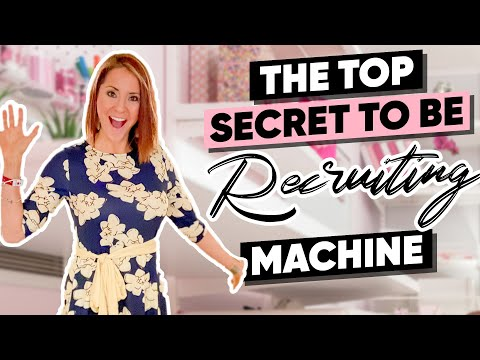 EXPLOSIVE RECRUITING!! HOW to be a people MAGNET at your DIRECT SALES Parties