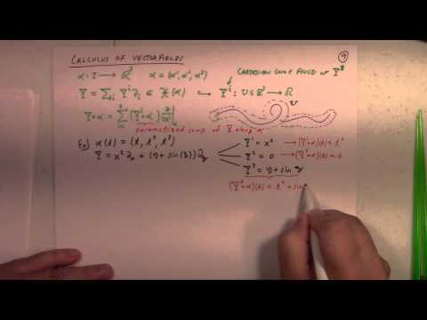 Differential Geometry: Lecture 5 part 2: attitude matrix and calculus along curve