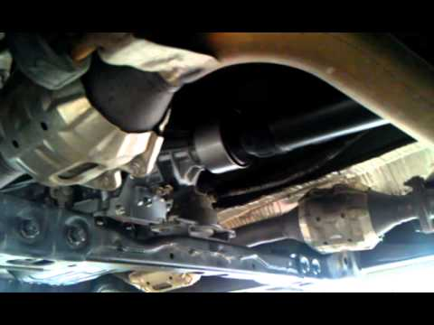 Tundra Transmissiondriveshaft Problem Youtube