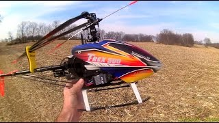 Align T-Rex 500 ESP Helicopter - Beautiful Day For A Flight