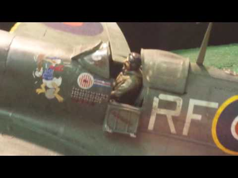 Airfix 124 Supermarine Spitfire Mk Vb Final Reveal