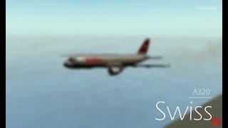 ROBLOX - France Vol A320 de Swiss International Airlines.