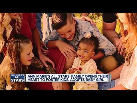 Metro Detroit Family Adopts Little Girl During Adoption Month