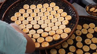 Choked Almond Cookie / Macau street food / 마카오 전통 아몬드과자 맛집