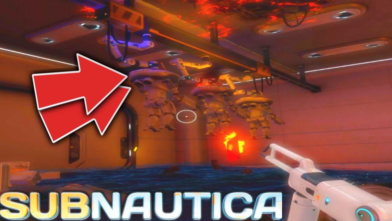 Subnautica Secret Hidden Aurora Room Prawn Exosuit Grapple Update