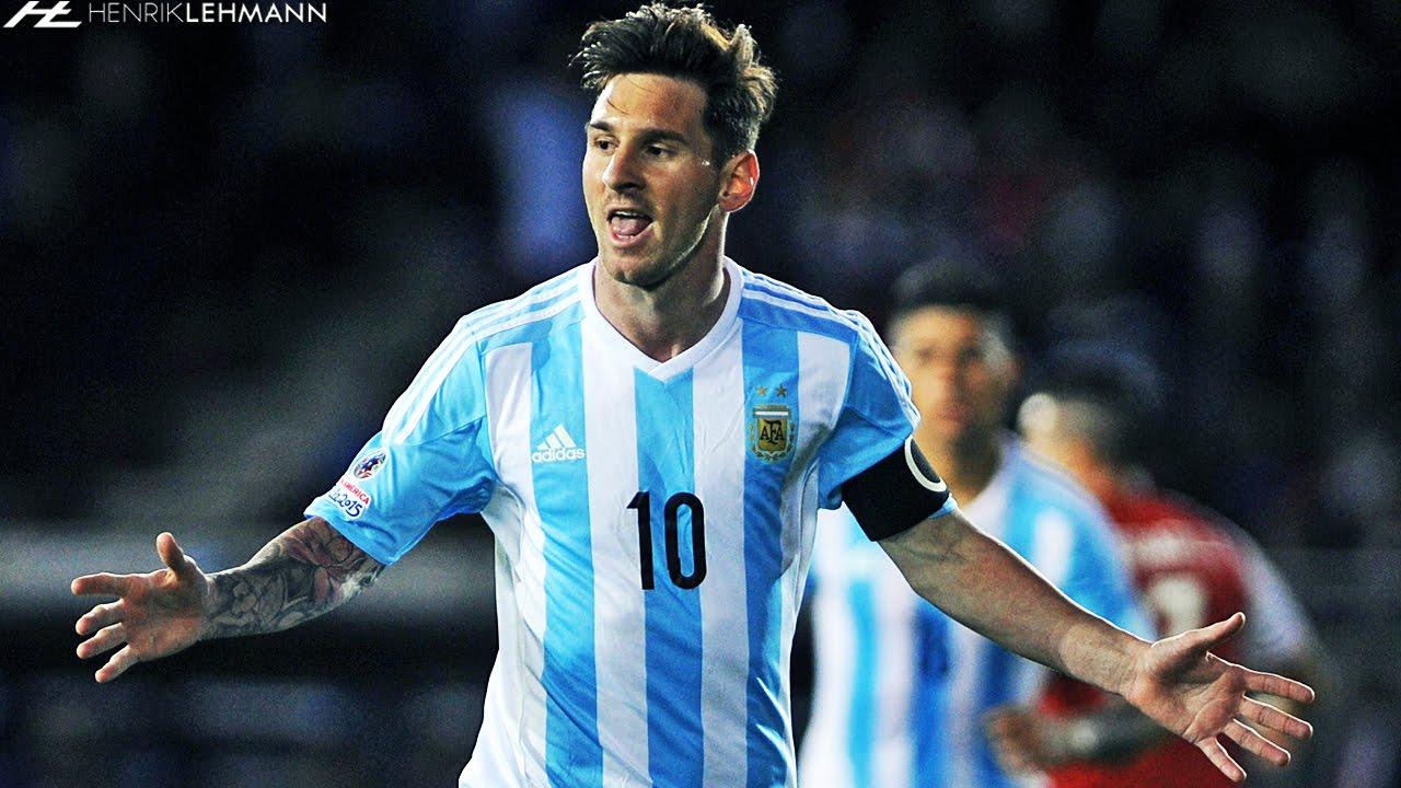 Lionel Messi Overall Copa América 2015 - YouTube