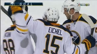 Eichel drills power-play goal from the circle
