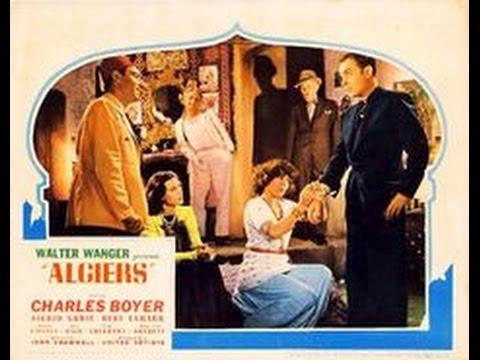 Algiers (Argel -1938) - de John Cromwell, con Charles Boyer - Subtítulos en Español