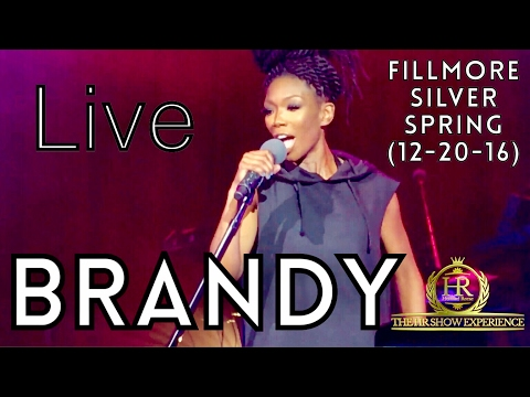 BRANDY Live at Fillmore Silver Spring (12-20-16) Full Concert