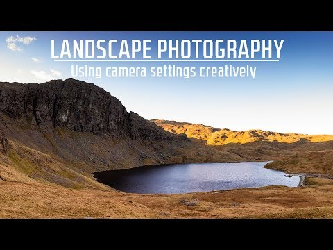 Landscape Photography | Being creative with camera settings