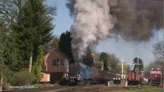 Bittern Charter Severn Valley Railway 260312