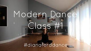 Modern Dance Class #1 - Diana Ford - Livestream Recording