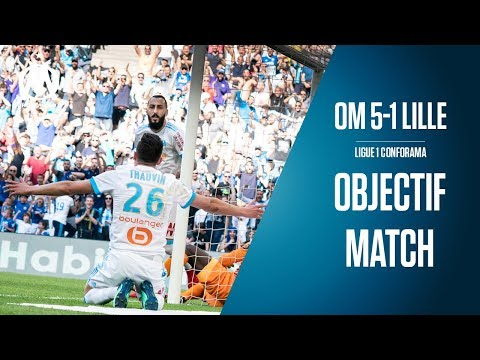 OM 5-1 Lille Les coulisses du match | Objectif Match