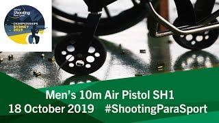 P1 Men's 10m Air Pistol SH1 | 2019 World Shooting Para Sport Championships