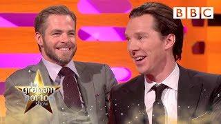Chris Pine Nuts Vs Benedict Cumberbitches | The Graham Norton Show - BBC