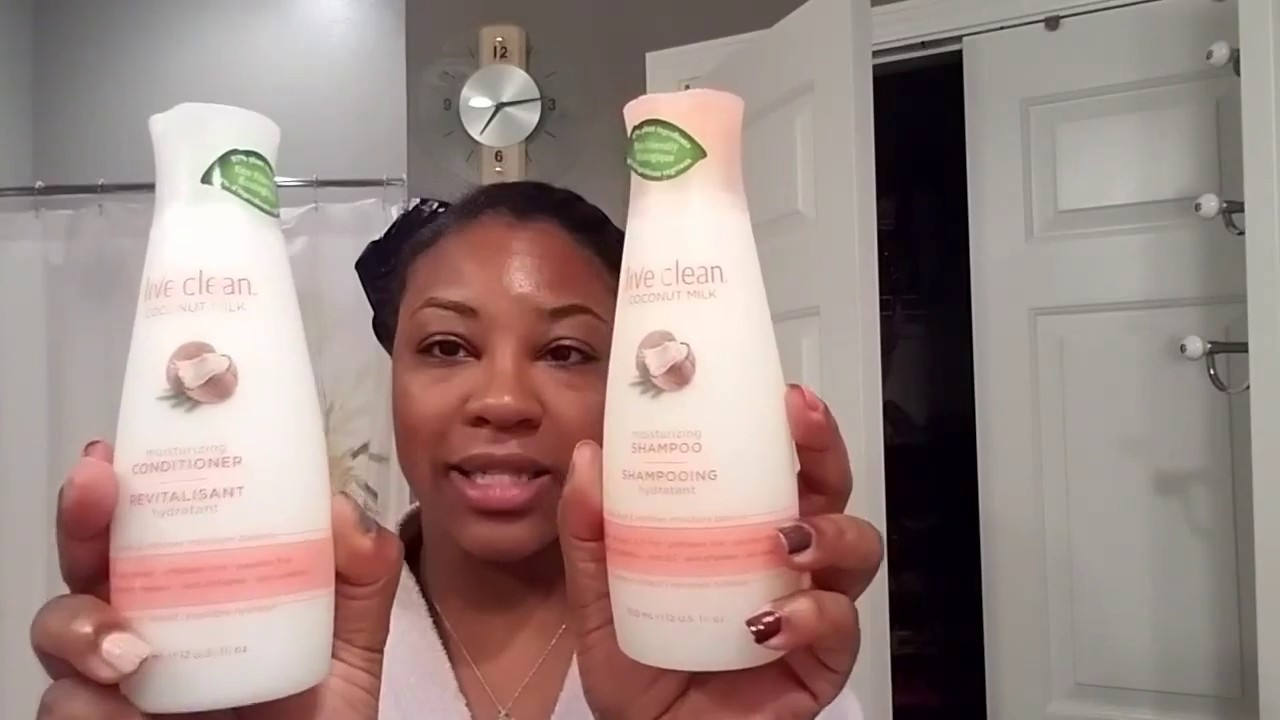 live clean coconut milk shampoo