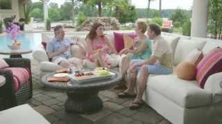 Lane Venture's Living Outdoors Upholstery