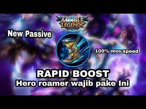 RAPID BOOTS PASIF BARU!!! SEPATU PALING OP SEASON 9!!!!