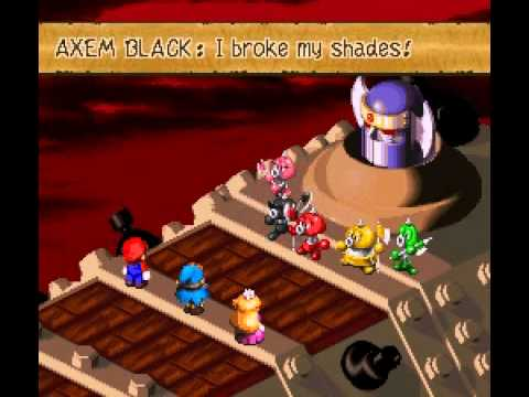 Super Mario RPG: All Major Bosses Compliation
