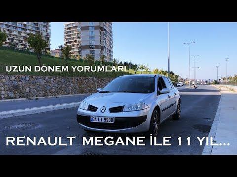 Renault Megane İle 11 Yıl...|| Megane2 1.4 Authentique|| 35 Bin Tl Ye Aile Aracı