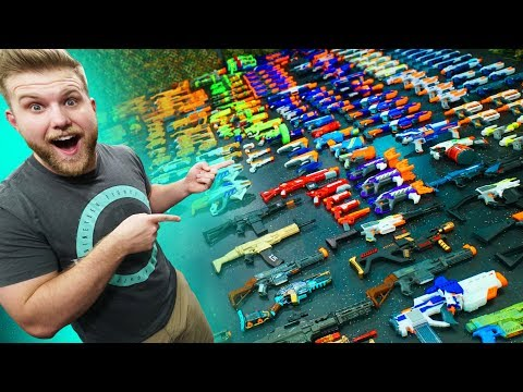 World's Biggest NERF Collection Challenge!