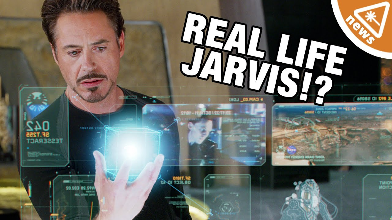 Who Is Making a Real Life JARVIS? (Nerdist News w/ Jessica Chobot)
