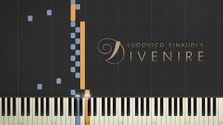 Ludovico Einaudi - Divenire \\ Synthesia Piano Tutorial