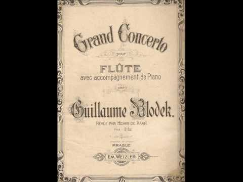 Vilém Blodek: Concerto in D major -- Vivace