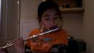 "Me playing ""Sadness and Sorrow"" from Naruto on my flute..=/"