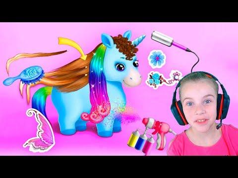 Парикмахерская для пони Игры для девочек