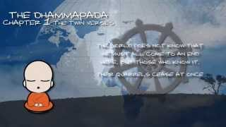 THE DHAMMAPADA  -THE SAYINGS OF THE BUDDHA - CHAPTER 1: THE TWIN VERSES - AUDIOBOOK VISUAL  BOOK