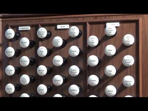 The new organ of the Cathedral of the Immaculate Conception, Springfield, Illinois