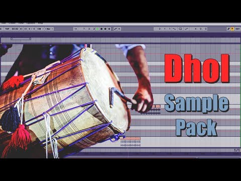 Punjabi and Bollywood Dhol Loops Sample Pack - Like Deep jandu, Desi Crew-routz, Shinda and more