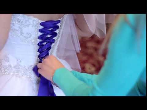 Lace up back wedding dress something blue for your wedding dress