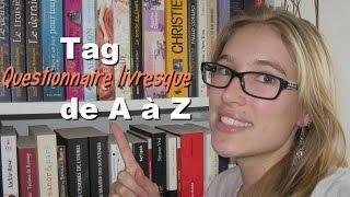 Tag | Questionnaire livresque de A à Z