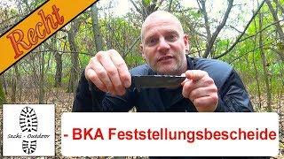Outdoor-Recht 7 - BKA-Feststellungsbescheide