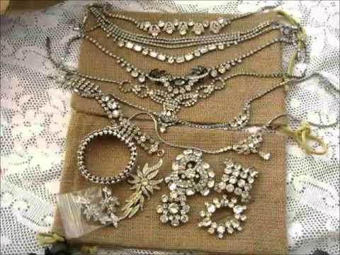 Beautiful Vintage Art Deco Jewelry Ebay Haul
