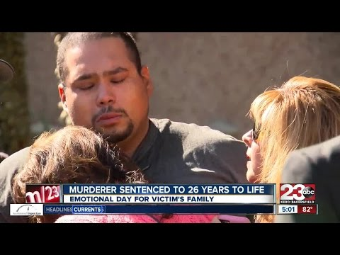 Murderer sentenced to 26 years to life