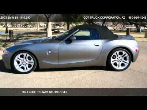 2003 Bmw Z4 Z4 Roadster 3 0i For Sale In Scottsdale Az