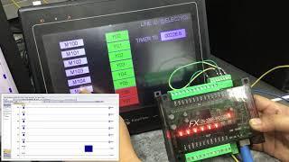 การใช้งาน GX-WORKS3 SIMULATION - VideoRuclip