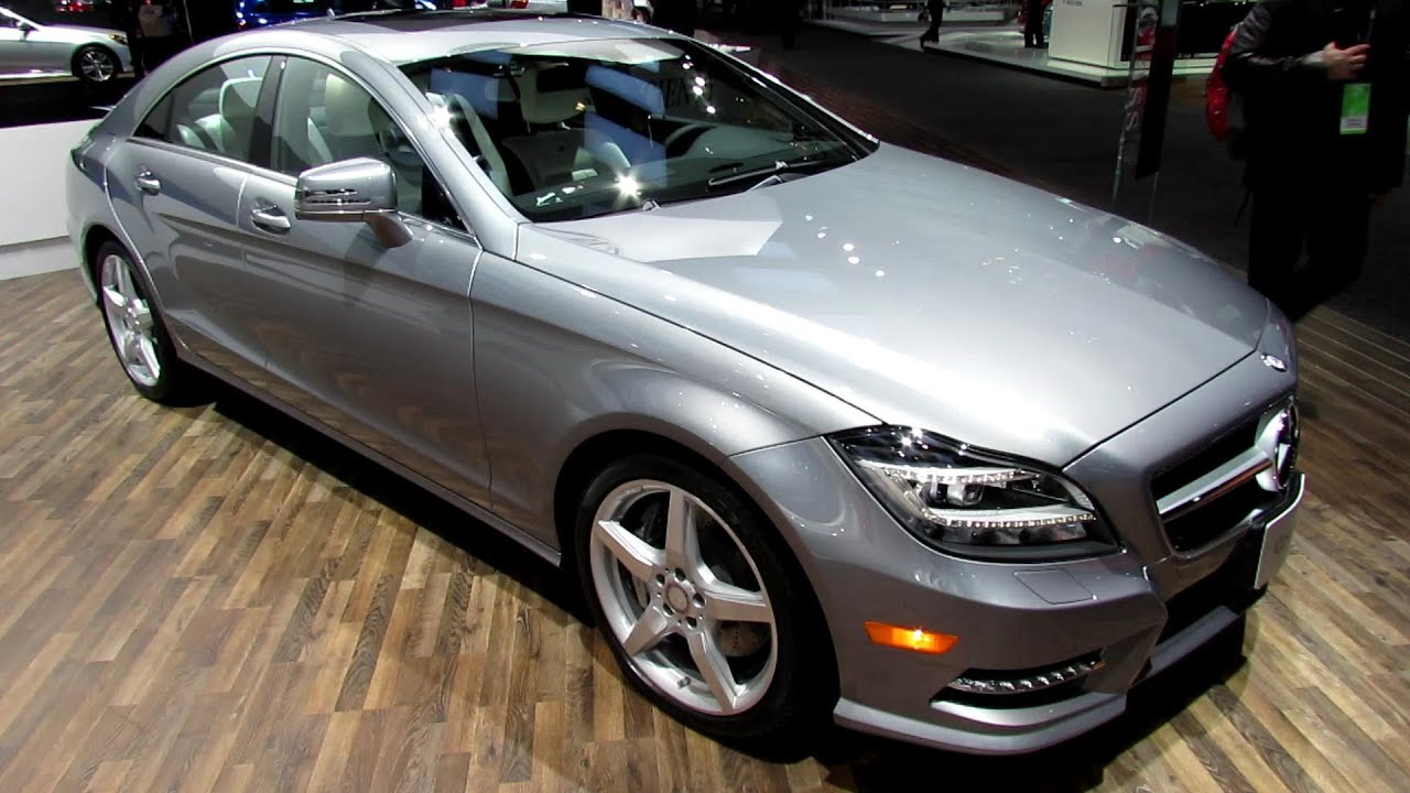 2013 Mercedes Benz Cls550 4matic Exterior And Interior