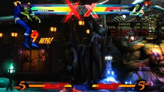Video UMVC3 - Hsien-ko Level 3 X Factor Gong Loop download MP3, 3GP, MP4, WEBM, AVI, FLV Juli 2018