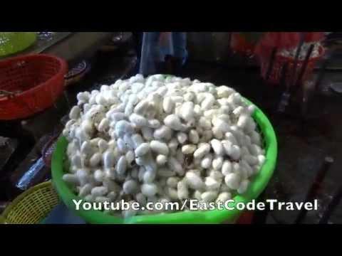 Silk factory Lam Dong  Vietnam